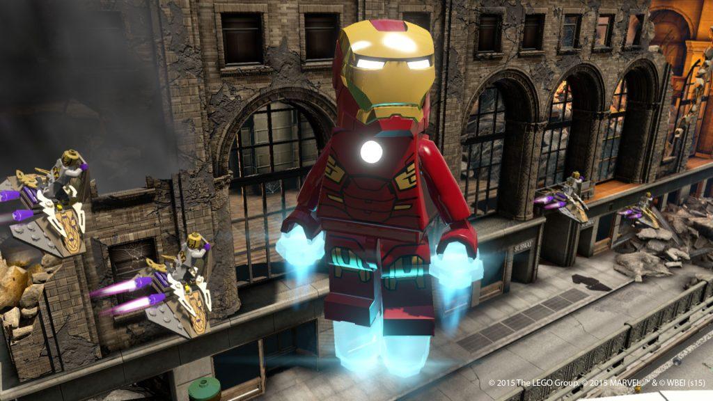 Homem de Ferro em LEGO