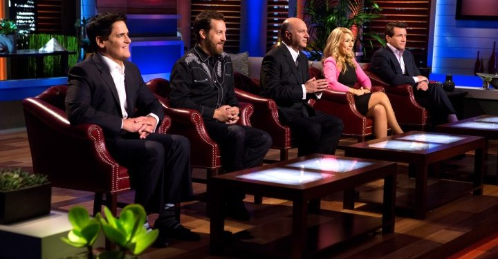 """SHARK TANK: Season 7  SHARK TANK – """"Episode 704″ – Former Google executive and billionaire Silicon Valley venture capitalist, Chris Sacca, best known for being among the earliest and largest investors in companies such as Twitter, Uber, Instagram, and Kickstarter, joins the Tank as a Guest Shark. He finds himself in a heated battle with Lori Greiner over a tech education business that's right up his alley, started by two impressive sisters from Pomona, CA. Two sports fans from Chicago, IL have a specialized version of a popular home rental website; an entrepreneur from Bayside, NY has a unique twist on everyone's favorite hot drink; and an inventor from Portland, OR has developed a revolutionary device that can inflate objects in mere seconds. Also, an update on Lydia Evans from Houston, TX, who failed to secure a deal in the Tank during Season Six for SWAG Essentials, her loofah soap company."""