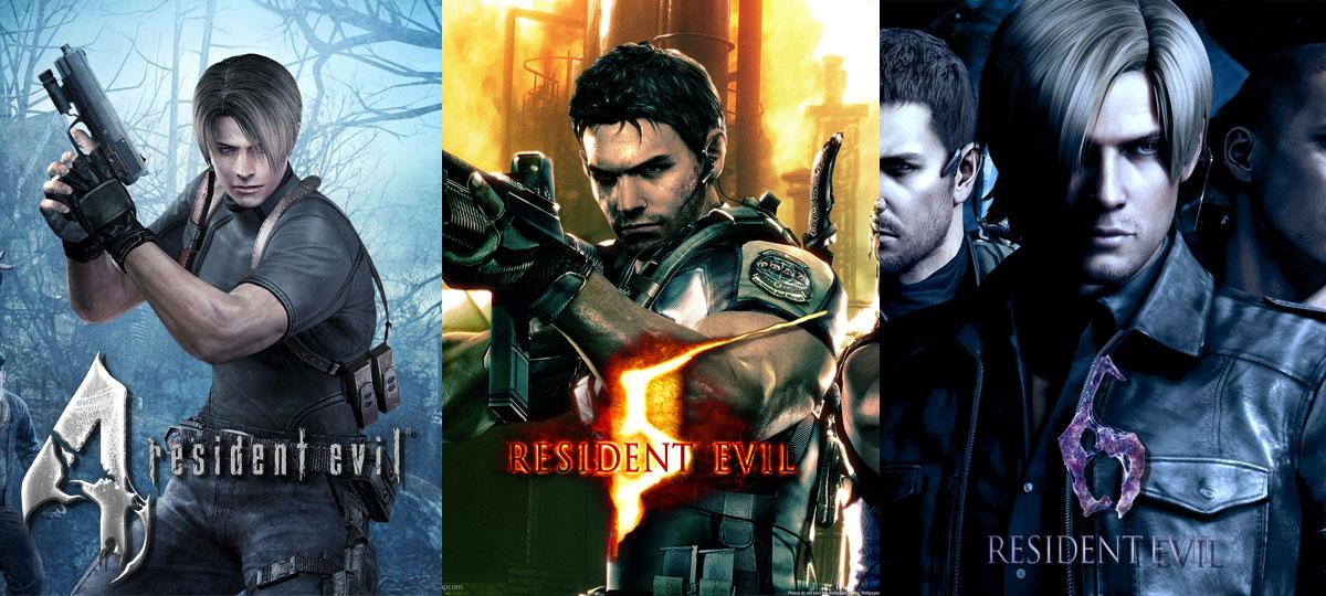 Relançamentos de Resident Evil 4, 5 e 6 são um sucesso de vendas - Poltrona  Nerd