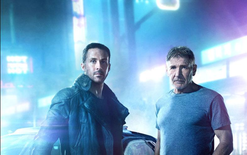 Blade Runner 2049 (2017) L-R: Ryan Gosling and Harrison Ford