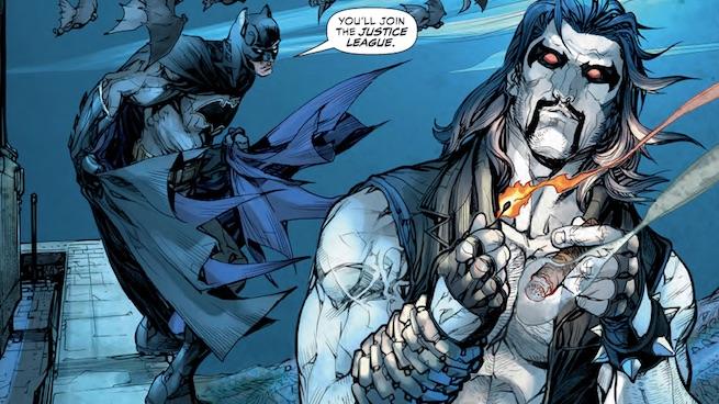 Lobo entra oficialmente para a Liga da Justiça 957c43cb54