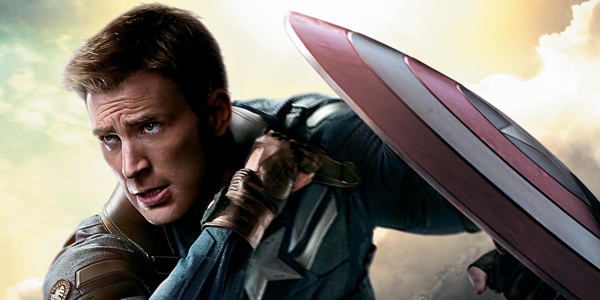 Chris Evans o Capitão América
