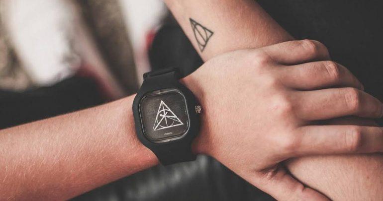 EuQuero   Marca de relógios lança coleção inspirada em Harry Potter dde654c6ce