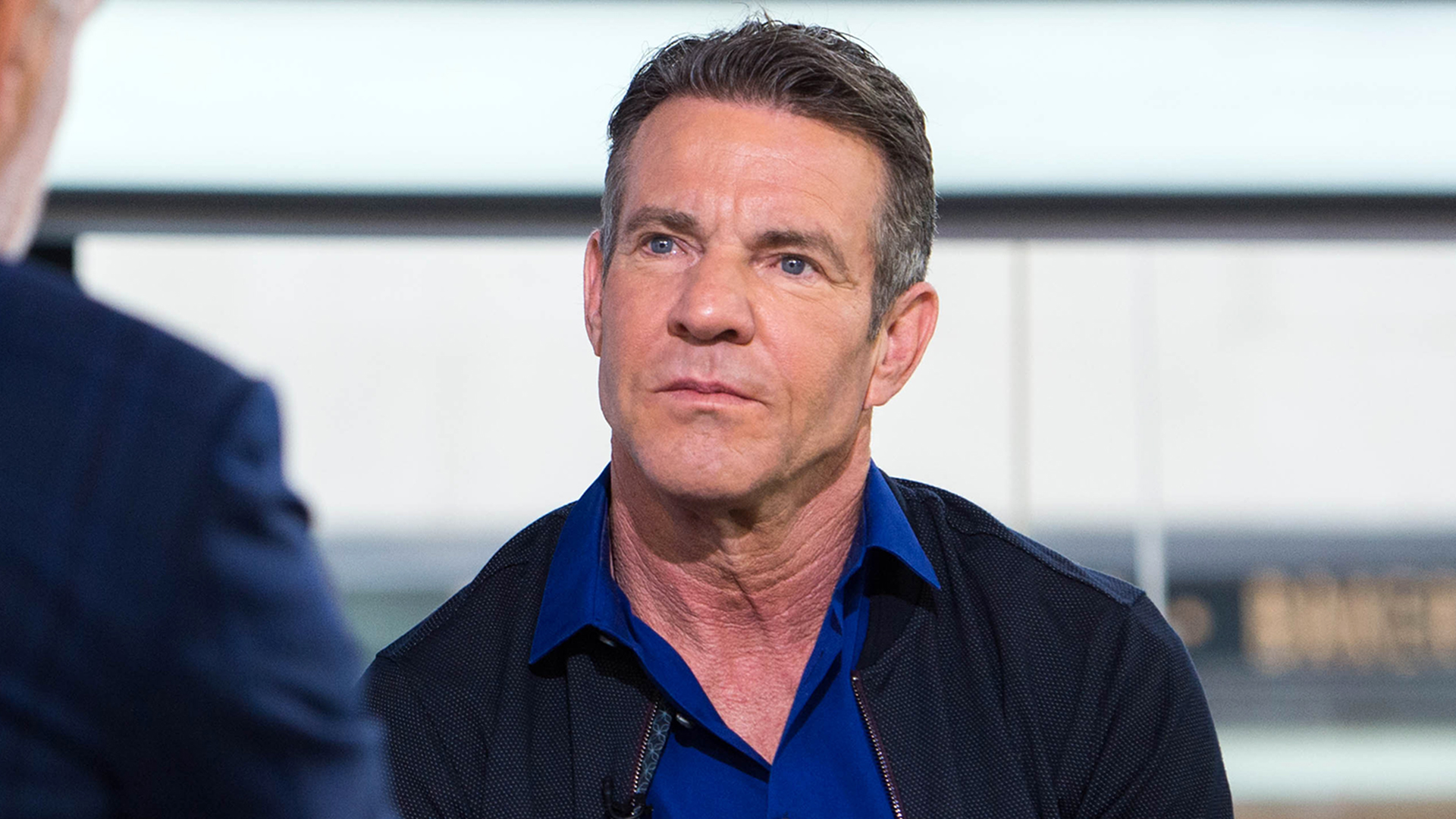 Dennis Quaid. TODAY, January 25th 2016.