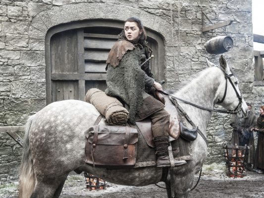 Maisie Williams as Arya Stark – Photo Helen SloanHBO