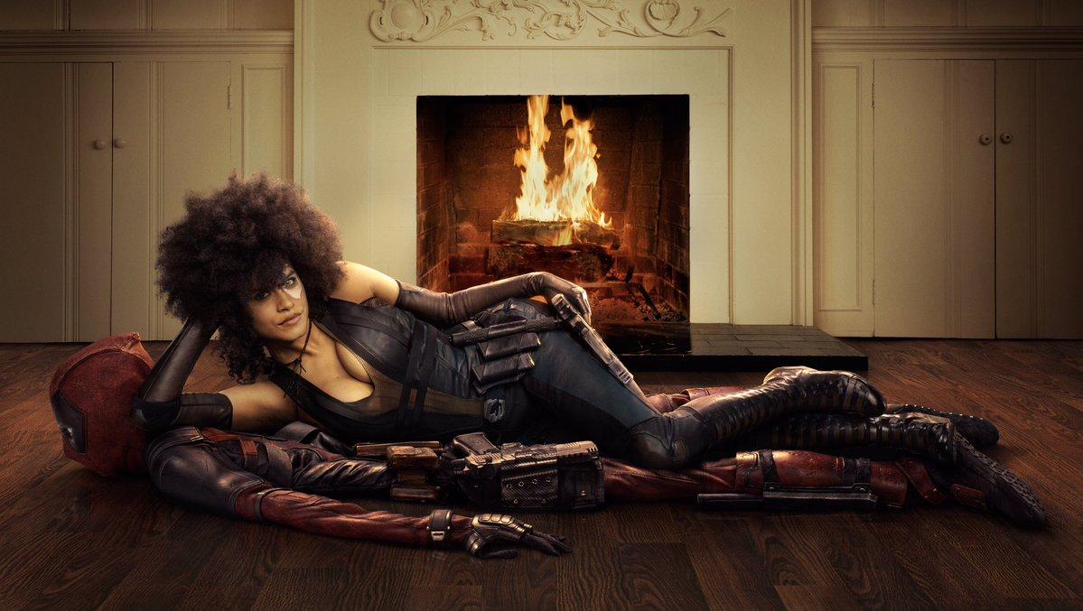 Ryan Reynolds divulga primeira imagem de Dominó em Deadpool 2