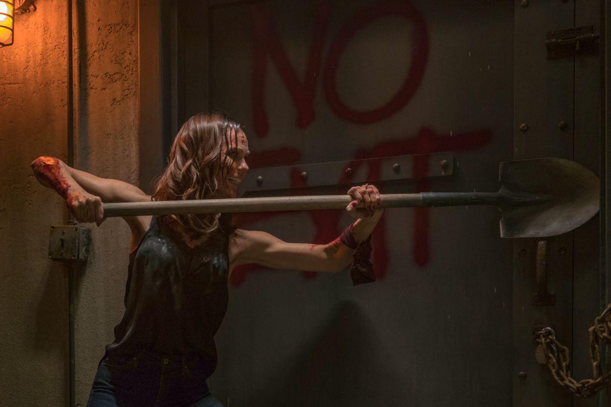 "Laura Vandervoort as ""Anna"" in JIGSAW. Photo by Brooke Palmer."