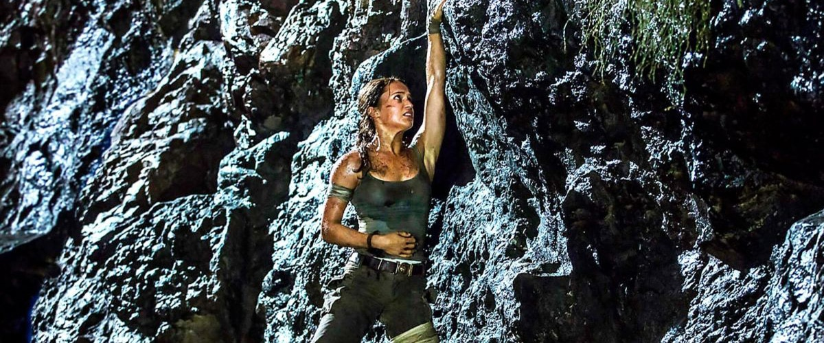 Tomb Raider (2018) Alicia Vikander as Lara Croft