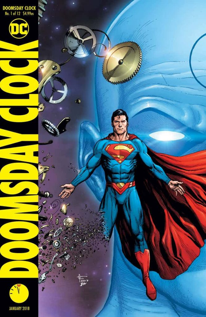Doomsday Clock capa 1