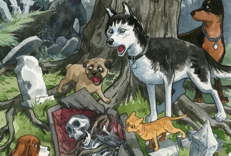 Lançado Beasts of Burden no Brasil