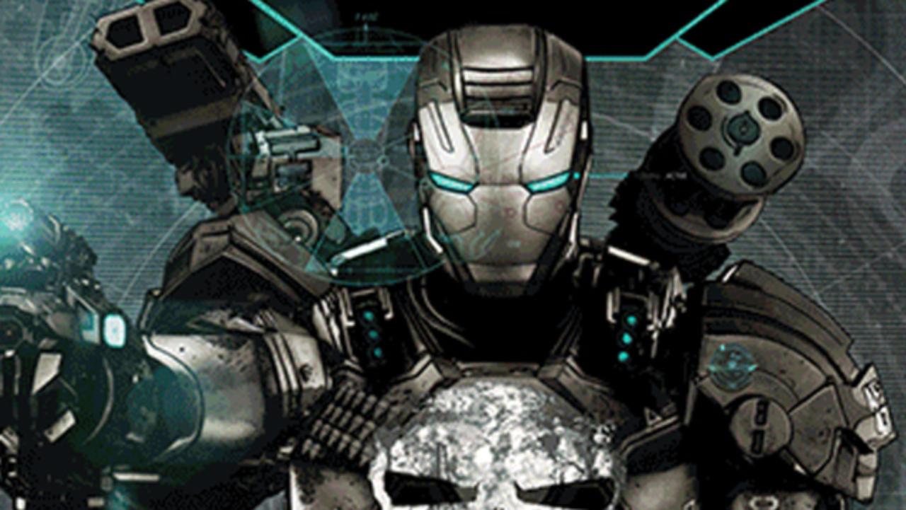 Justiceiro ganha armadura do Máquina de Combate