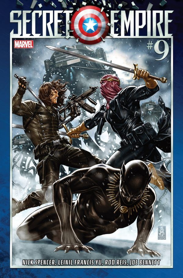 Capa de Secret Empire #9