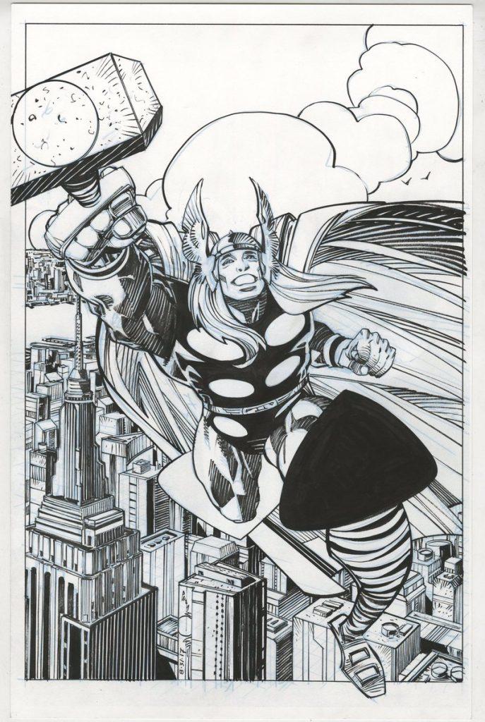 Thor em Marvel Legacy, por Walt Simonson