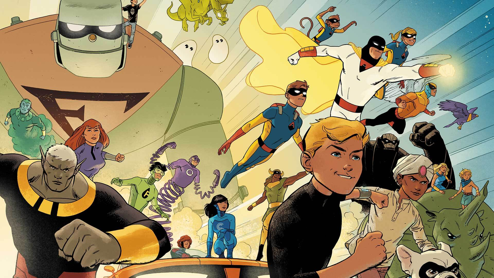 Future Quest reúne personagens da Hannah Barbera
