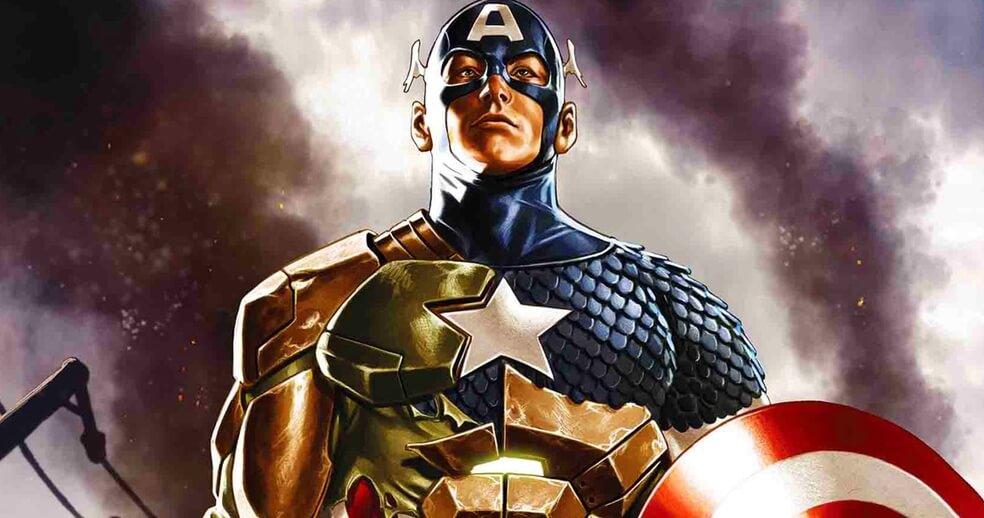 Capitão América da Hydra em Secret Empire Omega
