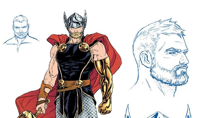 Novo visual Thor