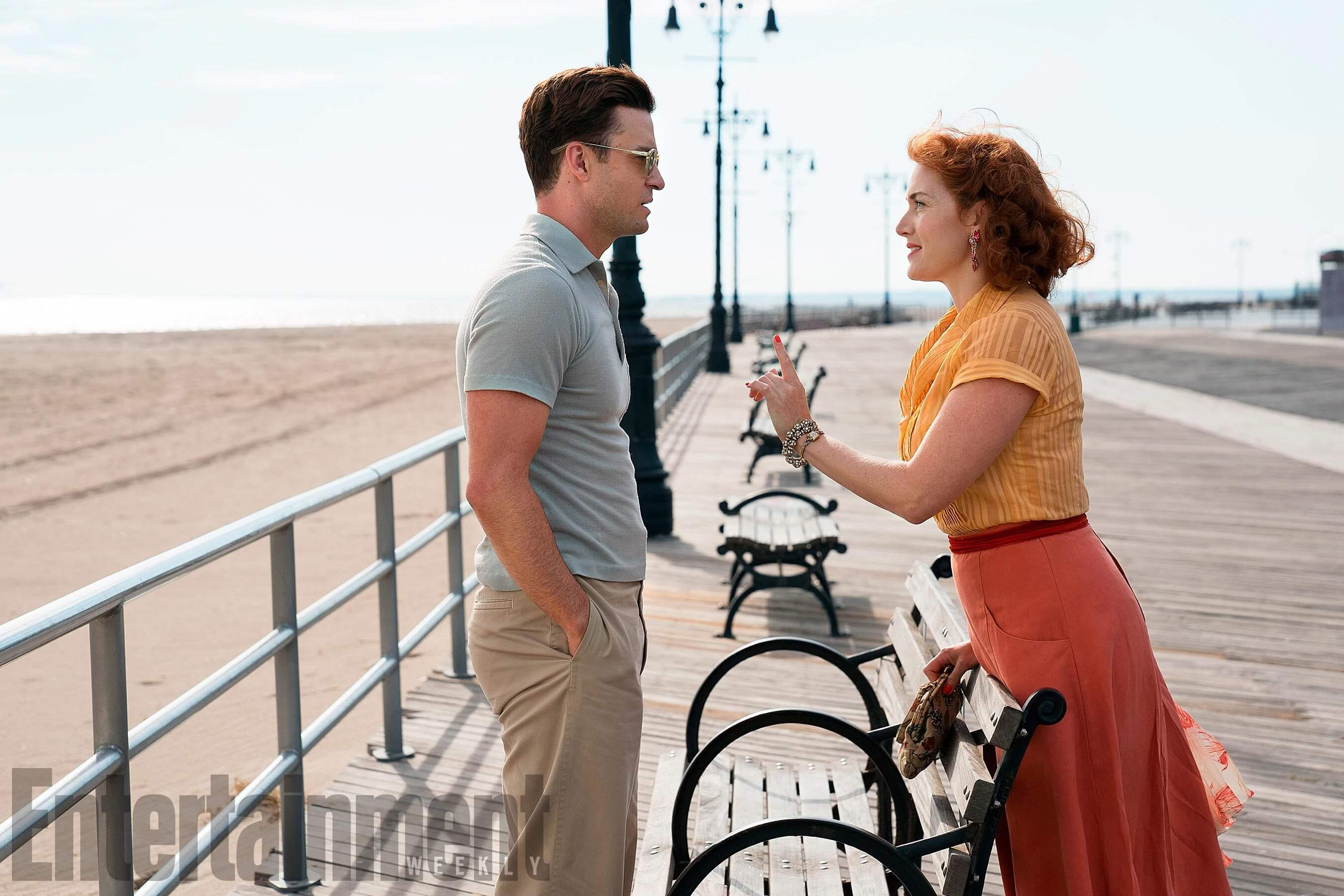 Wonder Wheel Justin Timberlake and Kate Winslet