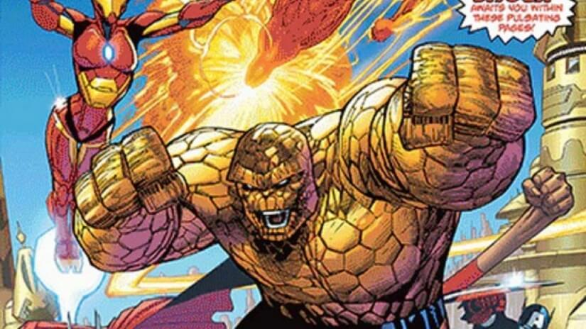 Marvel Two-in-One retorna com o Quarteto Fantástico