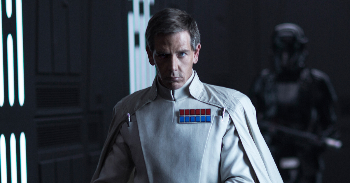 Rogue One: A Star Wars Story..Director Krennic (Ben Mendelsohn)..Ph: Jonathan Olley..© 2016 Lucasfilm Ltd. All Rights Reserved. null Copyright: 2016 Lucasfilm Ltd. & ™, All Rights Reserved.     ROGUE ONE: A STAR WARS STORY