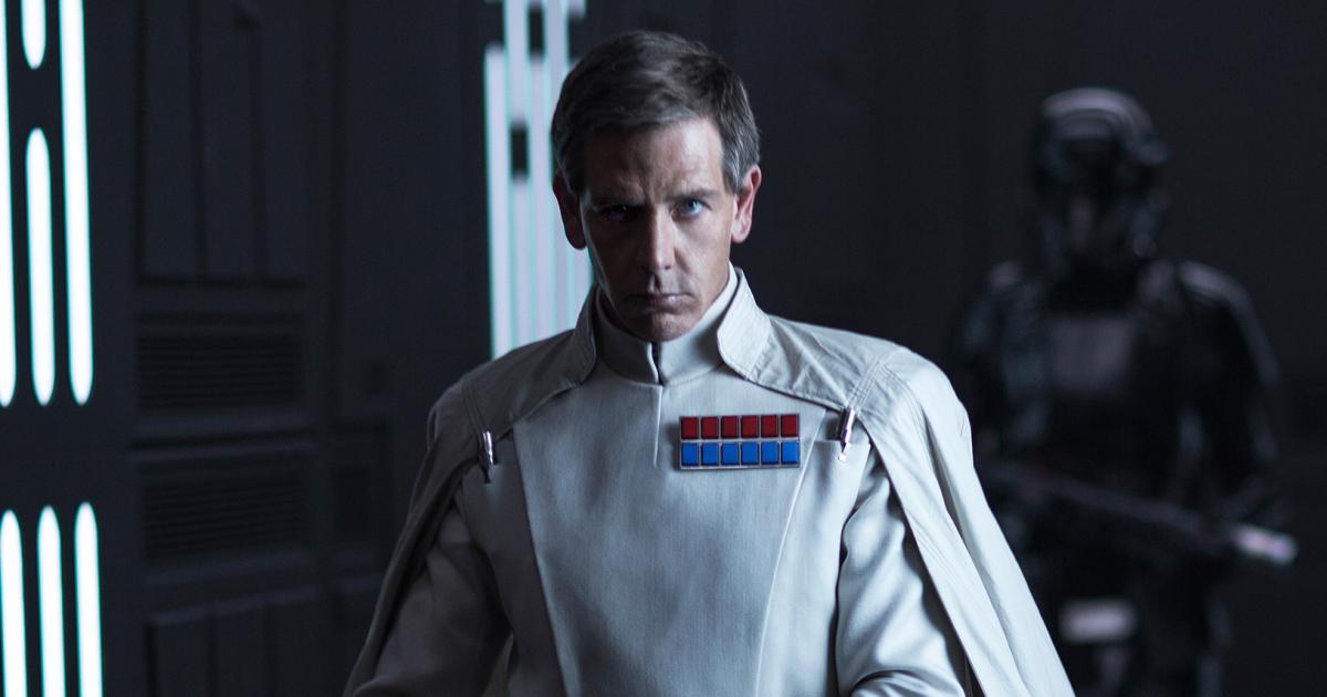Rogue One: A Star Wars Story..Director Krennic (Ben Mendelsohn)..Ph: Jonathan Olley..© 2016 Lucasfilm Ltd. All Rights Reserved. null Copyright: 2016 Lucasfilm Ltd. & ™, All Rights Reserved.     ROGUE ONE: A STAR WARS STORY