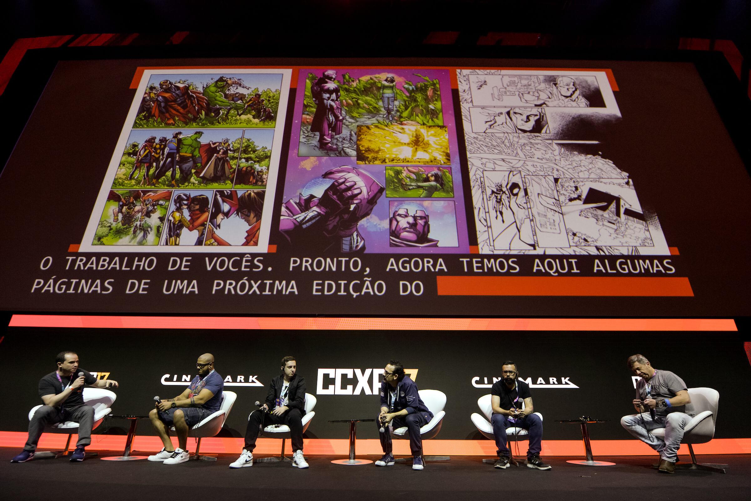 07/12/2017 - São Paulo - SP - Cobertura fotográfica do evento CCXP 2017 - No São Paulo Expo  Fotos: Daniel Deak / Galpão de Imagens