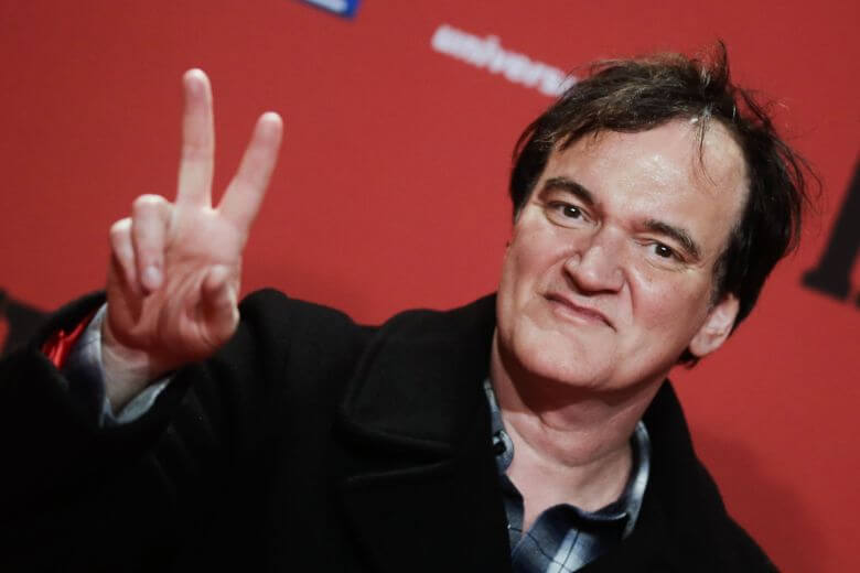 Mandatory Credit: Photo by Markus Schreiber/AP/REX/Shutterstock (6696292i) Director Quentin Tarantino arrives for the German premier of his film 'The Hateful Eight' in Berlin Germany The Hateful Eight Premiere, Berlin, Germany