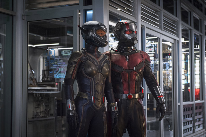 """From the Marvel Cinematic Universe comes """"Ant Man and the Wasp,"""" a new chapter featuring heroes with the astonishing ability to shrink. In the aftermath of """"Captain America: Civil War,"""" Scott Lang grapples with the consequences of his choices as both a Super Hero and a father. As he struggles to rebalance his home life with his responsibilities as Ant-Man, he's confronted by Hope van Dyne and Dr. Hank Pym with an urgent new mission. Scott must once again put on the suit and learn to fight alongside the Wasp as the team works together to uncover secrets from the past.  """"Ant-Man and the Wasp"""" is directed by Peyton Reed and stars Paul Rudd, Evangeline Lilly, Michael Pena, Walton Goggins, Bobby Cannavale, Judy Greer, Tip """"T.I."""" Harris, David Dastmalchian, Hannah John Kamen, Abby Ryder-Fortson, Randall Park, with Michelle Pfeiffer, with Laurence Fishburne, and Michael Douglas.  Kevin Feige is producing with Louis D'Esposito, Victoria Alonso, Stephen Broussard, Charles Newirth, and Stan Lee serving as executive producers. Chris McKenna & Erik Sommers,Paul Rudd, Andrew Barrer & Gabriel Ferrari wrote the screenplay. """"Ant-Man and the Wasp"""" hits U.S. theaters on July 6, 2018."""