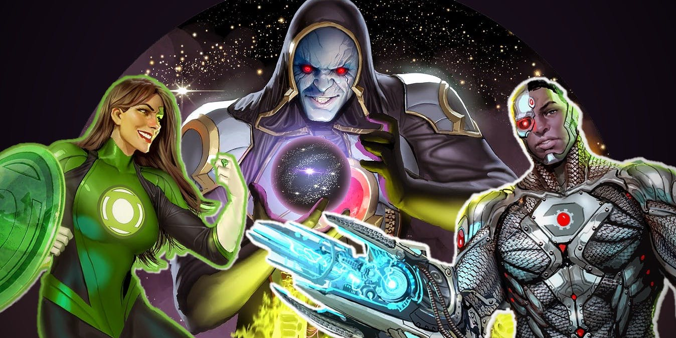 Darkseid se une a Liga da Justiça
