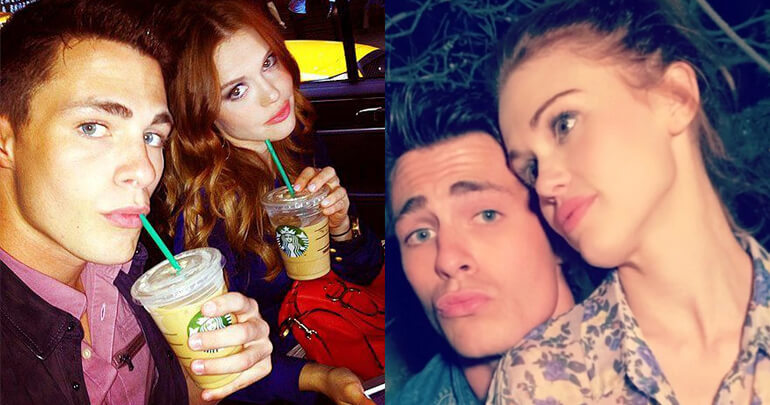 Colton Haynes e Holland Roden