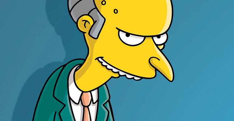Mr Burns Simpsons Wallpaper Wide
