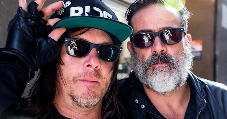 Norman Reedus e Jeffrey Dean Morgan