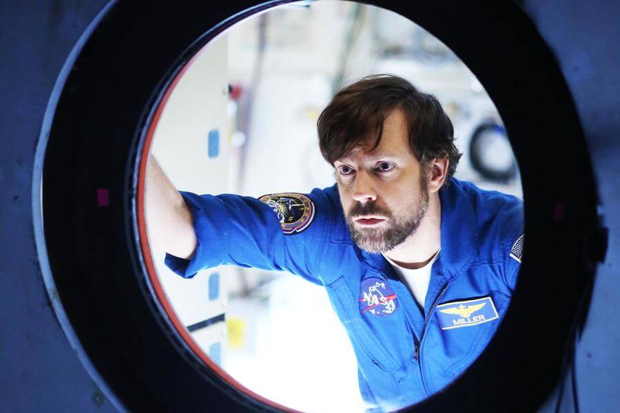 "THE LAST MAN ON EARTH:  Phil's brother (guest star Jason Sudeikis) in the ""Screw The Moon"" season finale episode of THE LAST MAN ON EARTH airing Sunday, May 3 (9:30-10:00 PM ET/PT) on FOX.  ©2015 Fox Broadcasting Co.  Cr:  Jordin Althaus/FOX"