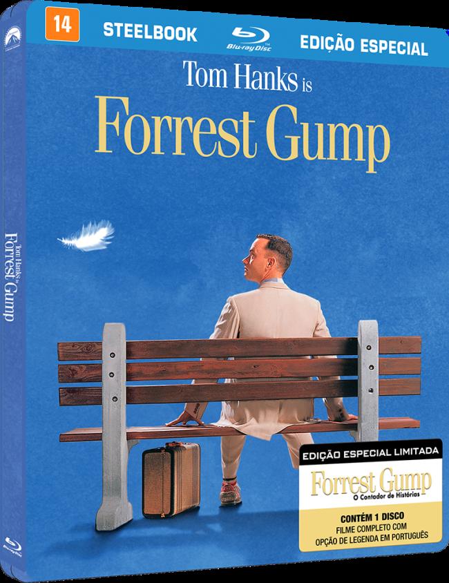 Forrest Gump ganha versão especial em Steelbook!