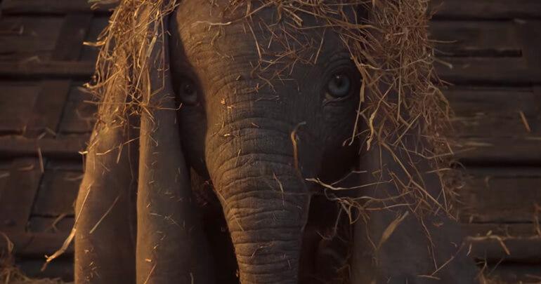 Dumbo filme de Tim Burton