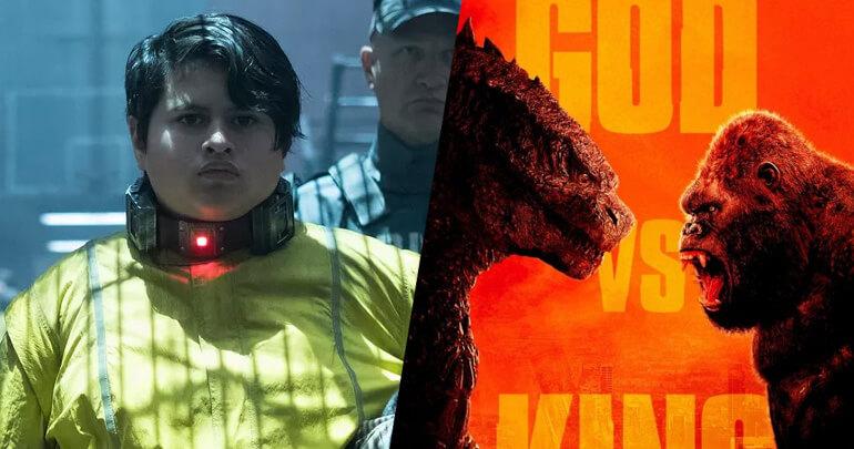 Julian Dennison Deadpool 2 e Godzilla vs Kong