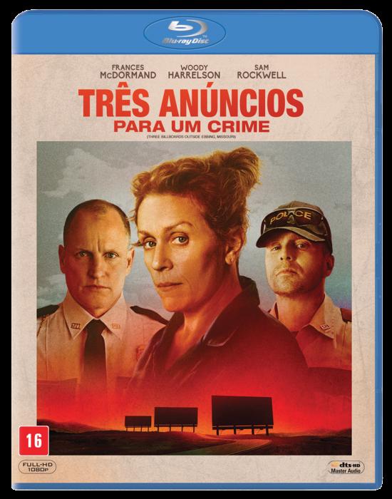 Três Anúncios para um Crime em Blu-ray