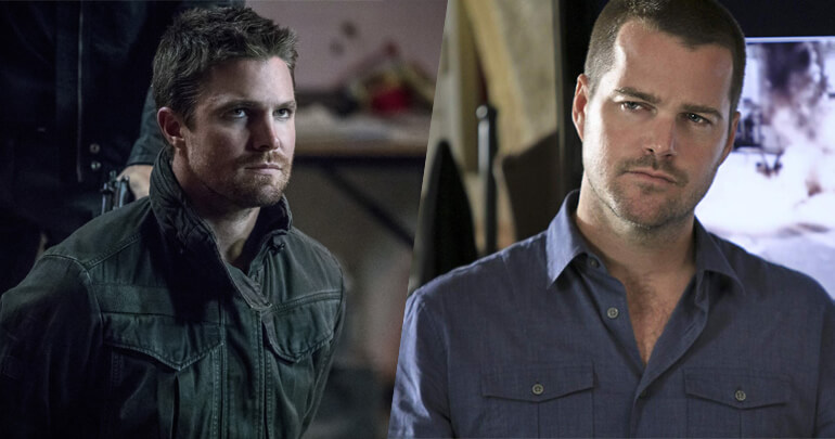 Stephen Amell e Chris O'Donell