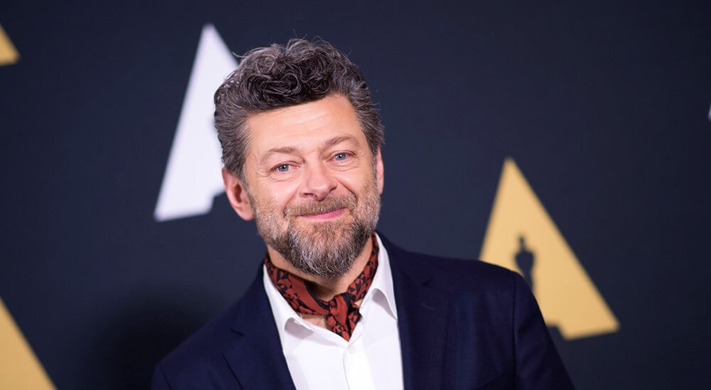 Actor/director Andy Serkis attends the 44th Students Academy Awards at the Academy of Motion Picture Arts and Sciences, on October 12, 2017, in Beverly Hills, California. / AFP PHOTO / VALERIE MACONVALERIE MACON/AFP/Getty Images