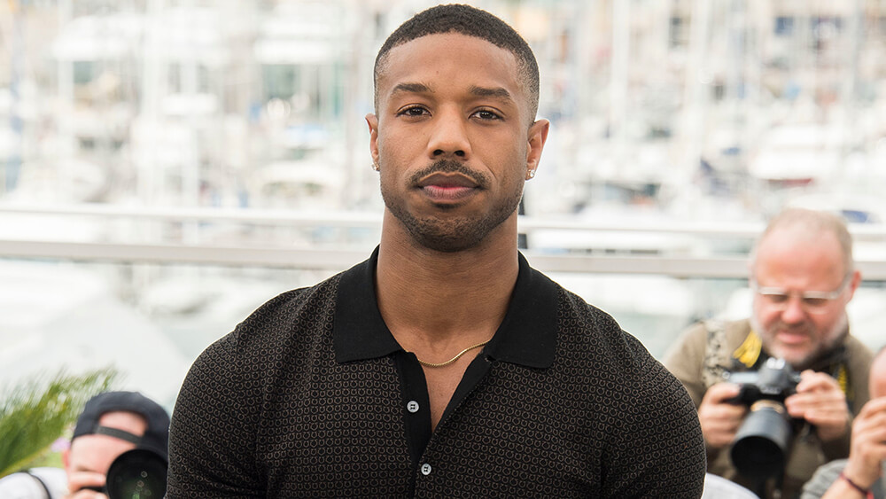 Mandatory Credit: Photo by Arthur Mola/Invision/AP/REX/Shutterstock (9669321ck) Actor Michael B. Jordan poses for photographers during a photo call for the film 'Fahrenheit 451' at the 71st international film festival, Cannes, southern France 2018 Fahrenheit 451 Photo Call, Cannes, France - 12 May 2018