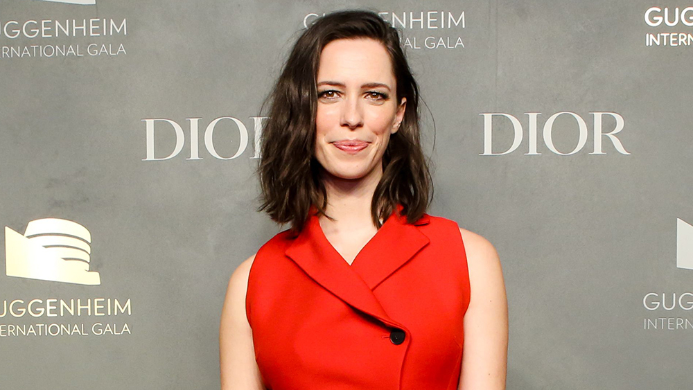 Mandatory Credit: Photo by Samantha Deitch/BFA/REX/Shutterstock (9225360cc) Rebecca Hall Guggenheim International Gala pre-party, New York, USA - 15 Nov 2017 WEARING DIOR