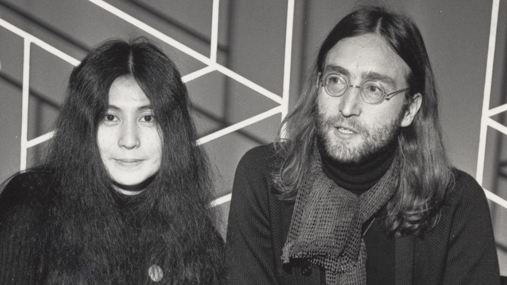 EDITORIAL USE ONLY / NO MERCHANDISING Mandatory Credit: Photo by FremantleMedia Ltd/REX/Shutterstock (826211ip) 'Today'  - Yoko Ono and John Lennon. Thames TV Archive