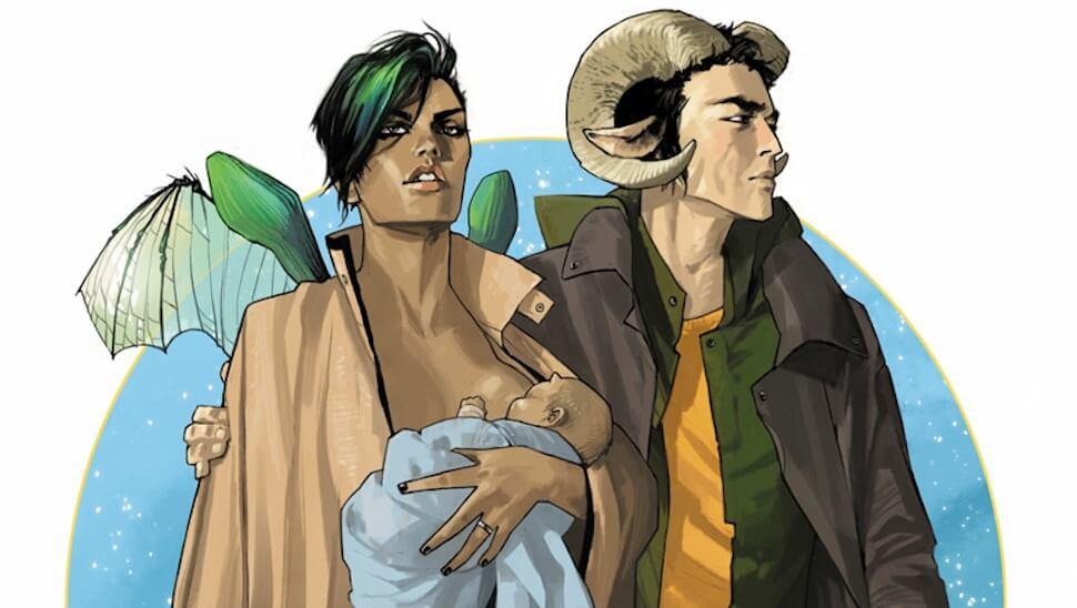 Saga, de Brian K. Vaughan e Fiona Staples
