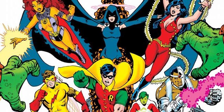 Lendas do Universo DC: Os Novos Titãs - George Perez