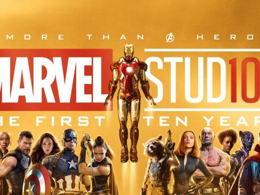 poltrona-Marvel-Studios-The-First-10-Years-Banner