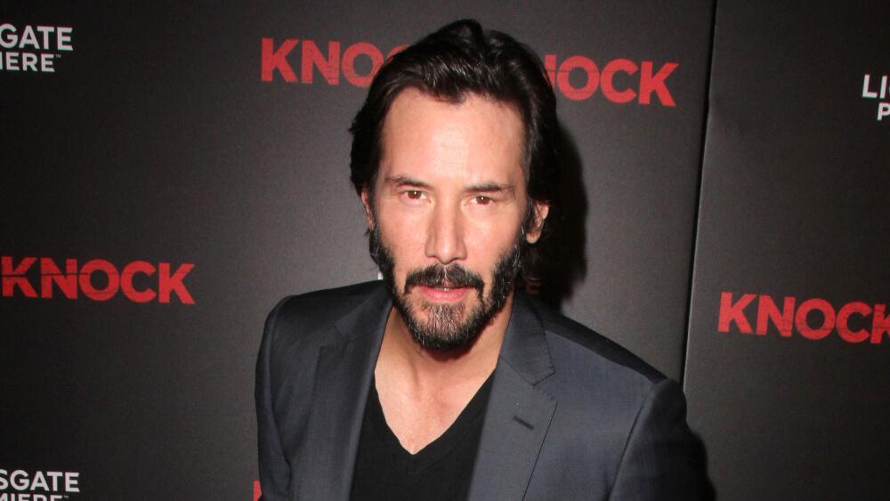 Mandatory Credit: Photo by MediaPunch/REX/Shutterstock (5225521u) Keanu Reeves 'Knock Knock' film premiere, Los Angeles, America - 07 Oct 2015