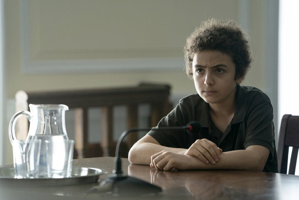 "THE SINNER -- ""Part VIII"" Episode 208 -- Pictured: Elisha Henig as Julian Walker -- (Photo by: Peter Kramer/USA Network)"