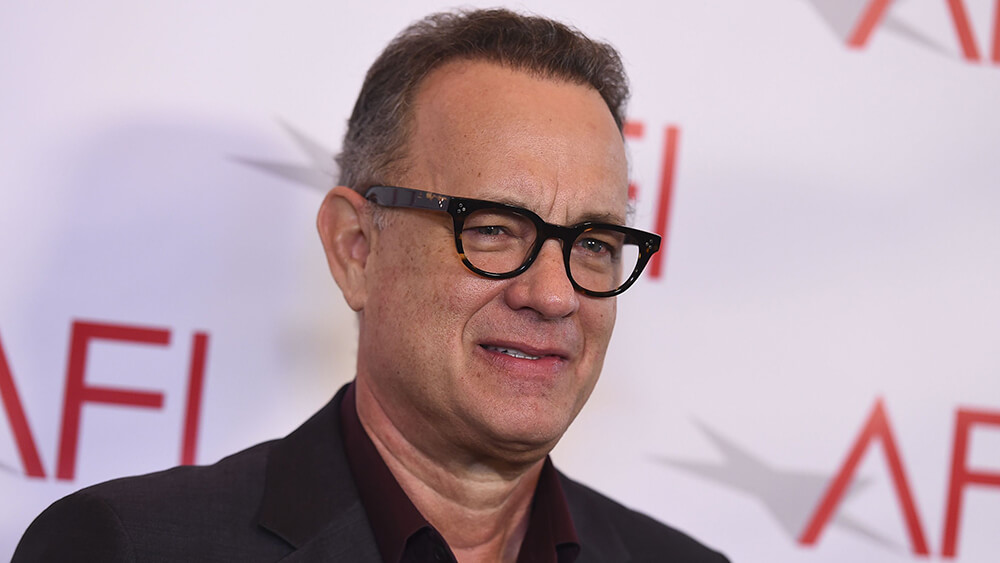 Mandatory Credit: Photo by Jordan Strauss/Invision/AP/REX/Shutterstock (9308377aq) Tom Hanks arrives at the 2018 AFI Awards at the Four Seasons on in Los Angeles 2018 AFI Awards, Los Angeles, USA - 05 Jan 2018