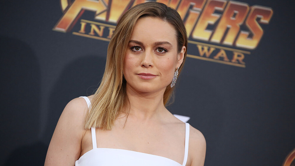 Mandatory Credit: Photo by Matt Baron/REX/Shutterstock (9640561qk) Brie Larson 'Avengers: Infinity War' film premiere, Arrivals, Los Angeles, USA - 23 Apr 2018