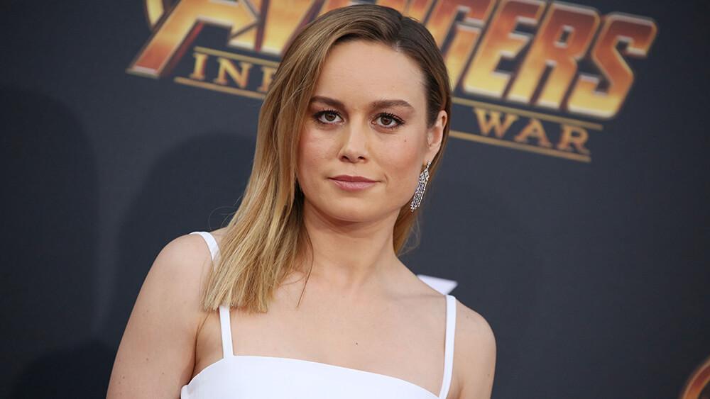 Mandatory Credit: Photo by Matt Baron/REX/Shutterstock (9640561qk) Brie Larson 'Avengers: Infinity War' film premiere, Arrivals, Los Angeles, USA - 23 Apr 2018