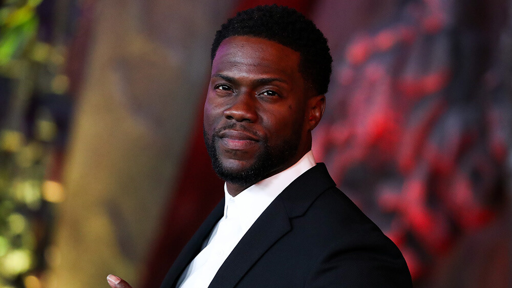 Mandatory Credit: Photo by John Salangsang/REX/Shutterstock (9276694l) Kevin Hart 'Jumanji: Welcome to the Jungle' film premiere, Arrivals, Los Angeles, USA - 11 Dec 2017